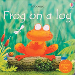 Frog on a Log (Board Book)