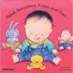 Head, Shoulders, Knees & Toes (Board Book)