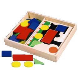 Kaplan Pattern Blocks & Shapes