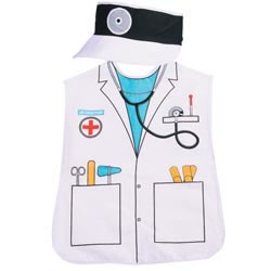 Doctor Community Worker Play Smock
