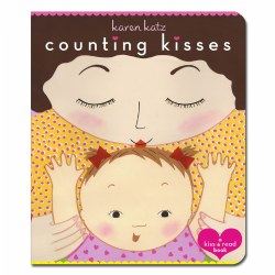 Counting Kisses - Board Book
