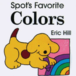 Spot's Favorite Colors - Board Book