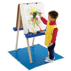 Economy Adjustable Double Easel