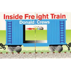 Inside Freight Train - Board Book