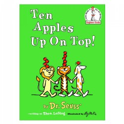 Ten Apples Up on Top - Board Book
