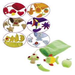 Color Sorting Bags (Set of 7)