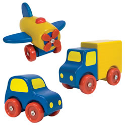 First Vehicle Set (Set of 3)