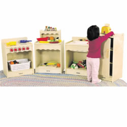 Toddler Kitchen Units (Set of 4)