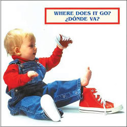 Where Does It Go? - Board Book