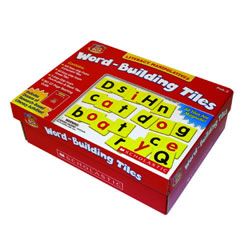 Little Red Tool Box Word Building Tiles, K-2