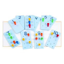 Peg It Number Boards