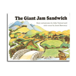 The Giant Jam Sandwich - Paperback