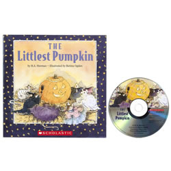 The Littlest Pumpkin Book and CD