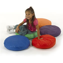 Round Pillows (Set of 5)