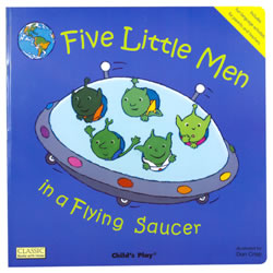 Five Little Men Big Book