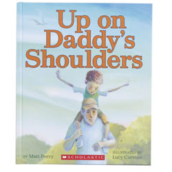 Up on Daddy's Shoulders - Hardback