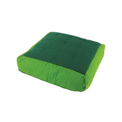 Cocoon Giant Square Soft Cushion - Green