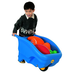 One Wheel Wheelbarrow