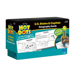 States and Capitals Hot Dots®