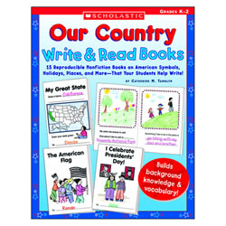 Our Country: Write & Read Books