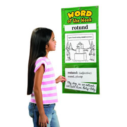 Word Of The Week Chart - Grades 4-5