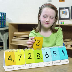Place Value Flip Stand