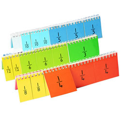 Fraction Flip Books and Activity Cards