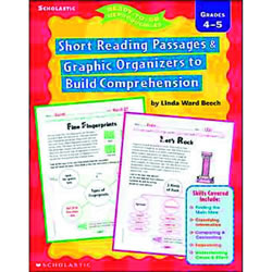 Short Reading Passages and Graphic Organizers to Build Comprehension Grades 4-5
