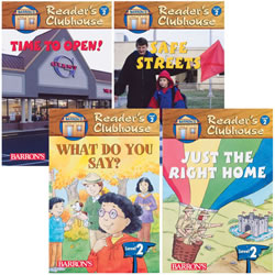 Readers Clubhouse Level 2 Set 2 (set of 4)