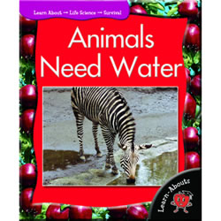Animals Need Water - Paperback