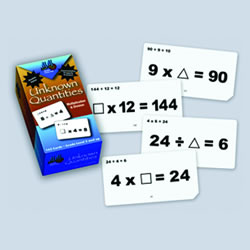 Multiplication and Division Unknown Quantities Flashcards