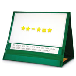 Magnetic Demonstration Tabletop Pocket Chart