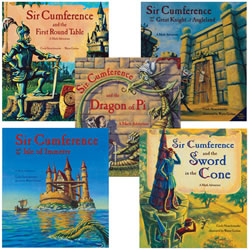 Sir Cumference Math Adventures (set of 5)
