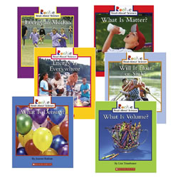 Read About Physical Science Book Set 1 (set of 6)