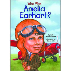 Who Was Amelia Earhart - Paperback