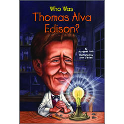 Who Was Thomas Alva Edison - Paperback