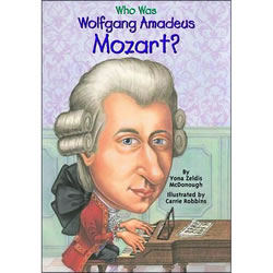 Who Was Wolfgang Amadeus Mozart - Paperback