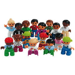 DUPLO® World People Set