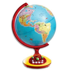 GeoSafari® Talking Globe Junior