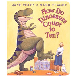 How Do Dinosaurs Count to Ten? (Board Book)