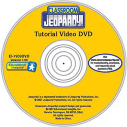 Classroom Jeopardy® Teacher Training DVD