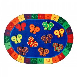 123 ABC Butterfly Fun Carpets