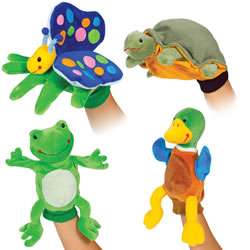 Pond Puppet Glove Set (Set of 4)