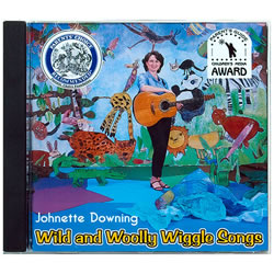 Wild & Wooly Wiggle Songs CD