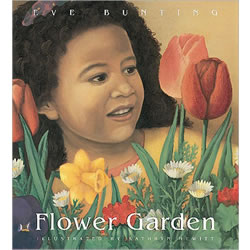 Flower Garden Lap Board Book