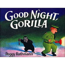 Good Night Gorilla Lap Board Book