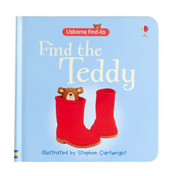 Find the Teddy (Board Book)