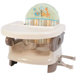 Summer Infant Deluxe Comfort Booster- Tan