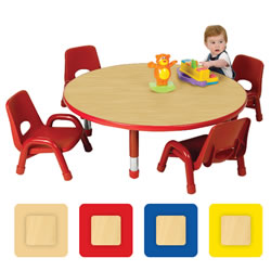 Nature Color Toddler Round Table 30""