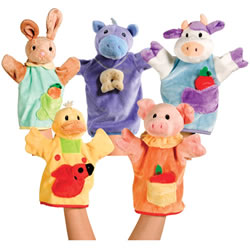 Cuddly Playtime Puppets Set 1